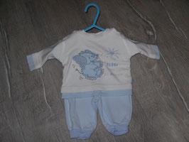 617 Süßes Set LA Shirt mit Elefant und Hose Gr. 50