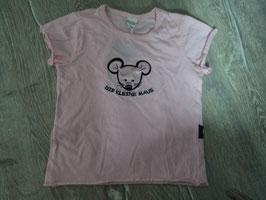 966 Shirt rosa mit Maus von KANZ Gr. 86