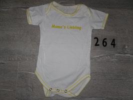 264 Body MAMA'S LIEBLING Gr. 62/68