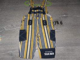 786 Coole Jeans Latzhose Gr. 74