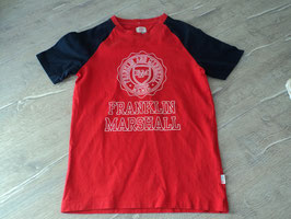 133 Shirt rot blau von FRANKLIN MARSHALL Gr. 134/140
