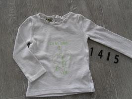 1415 LA Shirt ' Ich bin schon 2' von NEXT Gr. 86