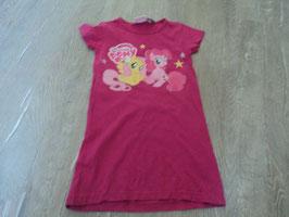 2447 Kleid pink mit My little Pony von MY LITTLE PONY Gr. 104/110