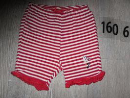 1606 Shorts weiß rot gestreift von SALT AND PEPPER Gr. 80
