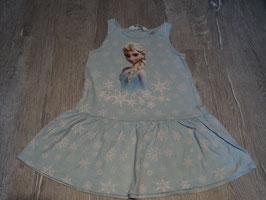 2772 Sommerkleid hellblau Elsa von H&M Gr. 98/104