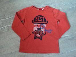 2651 LA Shirt orange mit Hund von S'OLIVER Gr. 92