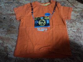 AL-200 Shirt orange mit Cam Big Smile Please von TOPOMINI Gr. 92