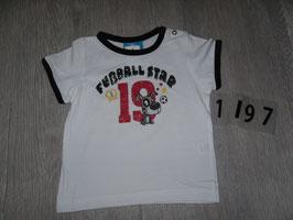 1197 Shirt Fußball Star 19 Deutschland Gr. 80