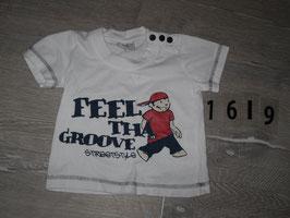 1619 T-Shirt Feel the Groove Gr. 62/68