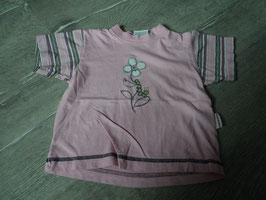 3019 Shirt rosa mit Blume und Raupe von COCORICO Gr. 80