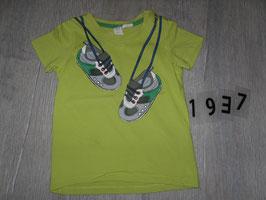 1937 Shirt grün mit Turnschuhe H&M Hr. 80