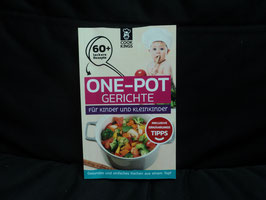 AL-160 One Pot Gerichte für Kinder und Kleinkinder über 60 Gerichte von COOK KINGS