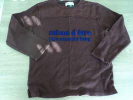 9 LA Shirt in rostbraun *raison d' Etre Aufschrift von ZARA  Gr. 122