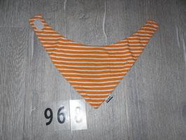 968 Halstuch orange weiß gestreift von JAKO-O