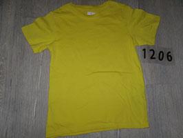 1206 Shirt im knalligen gelb von H&M Gr. 110/116
