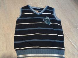2751 Pollunder blau gestreift  Gr. 92/98