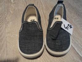 2852 Sommer Sneakers karriert blau weiß von H&M