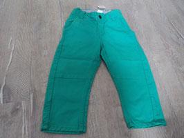 2536 Jeans türkis grün von H&M Gr. 86