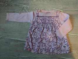 3120 Longshirt rosa mit Blumen von S'OLIVER Gr. 68
