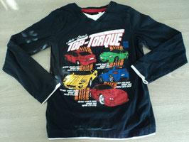11 LA Shirt schwarz mit bunten  Sportautos von C&A Gr. 122