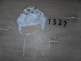 1527 Babymütze mit Flugzeuge von PUBLU Gr. 46/47