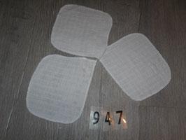 947 3 Waschlappen aus Gauze