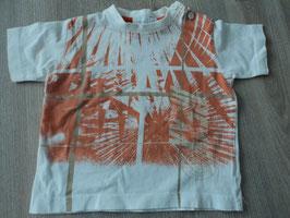 M-160 Shirt weiß orange von MEXX Gr. 74