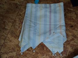 141 Set 2 Schals und 1 Teil was vorne an die erste Leiste muss. Tolle helle pastellfarben. Selbst genäht