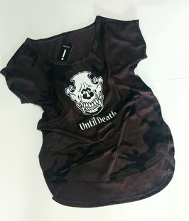 "Hard Rock Collection Damen Shirt "" Until death "" Camo Tee"