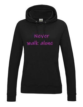 "Hoodie "" Never walk alone "" JH001F"