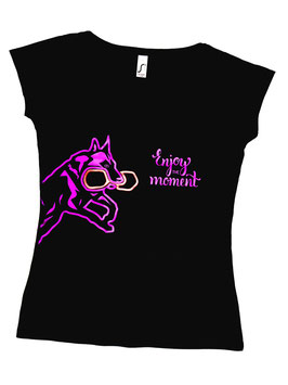 "Damen & Herren Shirt IGP "" Enjoy the moment"""