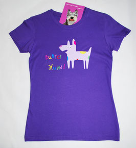 Bunter Hund T-Shirt Kinder & Damen