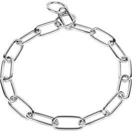 Edelstahl Halskette langgliedrig 4mm / 51663 55