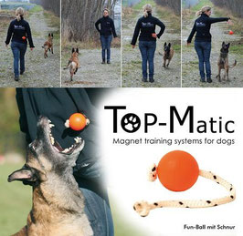 "Top-Matic ""Fun-Ball"" mit Seil"
