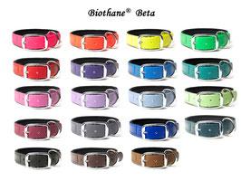 Biothane Halsband Deluxe / Neporen ! 25mm