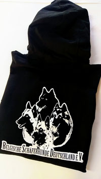 Uni Sex Hoodie oder Zip Hoodie mit BSD e.V. Logo