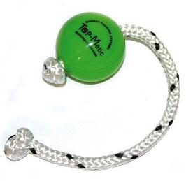 Top-Matic Fun-Ball Mini mit Seil grün