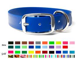 Biothane Halsbänder mit Designschnalle. 25mm