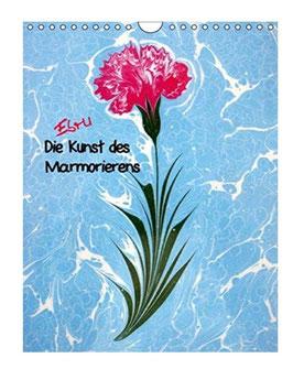 Ebru - Marmorieren auf Wasser Wandkalender 2020 DIN A5 hoch