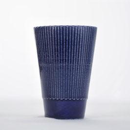 Vaso azul cobalto