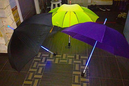 Светодиодный зонтик