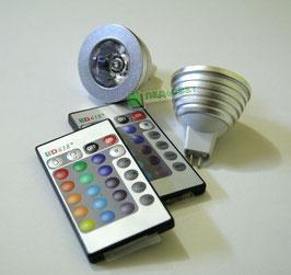 Светодиодная лампа LS-MR16 RGB-5W