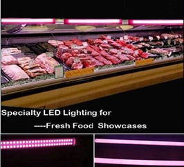 светодиодная лампа LS-T8-9W  pink
