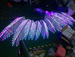Светодиодная пальма RGB