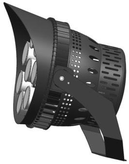 светодиодный прожектор LS-PRO 500W-Sport Light-S