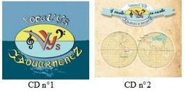 Lot de plusieurs CD différents