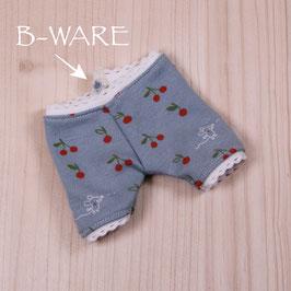 B-WARE Panty blau Kirschen (Dreikäsehoch)