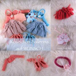 "Kollektion ""Ballerina"" auf WUNSCH (Dreikäsehoch 30cm)"