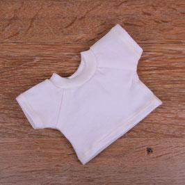T-Shirt weiß (Dreikäsehoch)