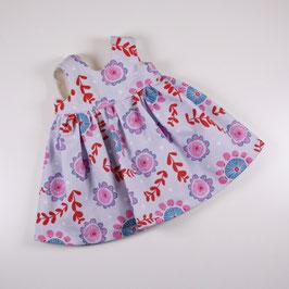 """Kleid """"Omas Liebling"""", blau/ pink/ rot/ Blumen"""
